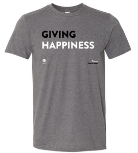 'Giving Happiness' Short-Sleeve Unisex T-Shirt