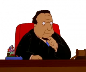 Judge Snyder from The Simpsons Source: simpsons.wikia