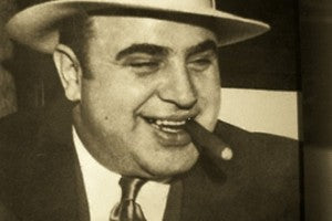 "Al Capone, ""The Boss of all Bosses."" Image source: darkhorizons.com"