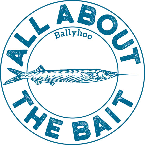 All About The Bait Ballyhoo Sticker
