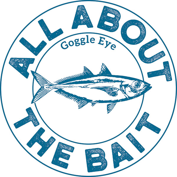 All About The Bait Goggle Eye Sticker
