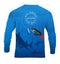 (+ FREE MASK) BLOODY TUNA - COOLMAX - 100% Micro Fiber Polyester Performance Long Sleeve Shirt (FREE SHIPPING)