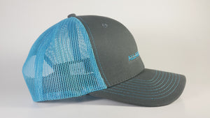 (3 Colors) BAIT FISH - KC Caps KC8400 Adult Pro Style Trucker Cap with Neon Mesh - (FREE DELIVERY)