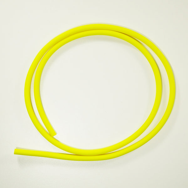 "Chartreuse - 1/4"" Colored Tubing - DIY Baby Cuda Tubes/Sunglass Straps"