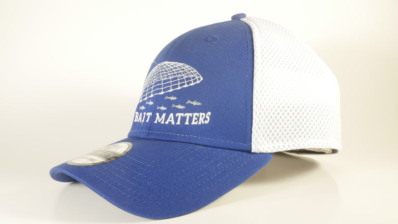 (3 Colors) LIVE BAIT MATTERS - LARGE/X-LARGE New Era® Stretch Mesh Cap (NE1020) - (FREE DELIVERY)