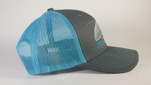 (3 Colors) LIVE BAIT MATTERS - KC Caps KC8400 Adult Pro Style Trucker Cap with Neon Mesh - (FREE DELIVERY)