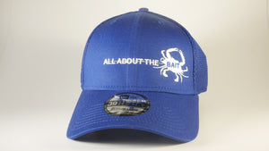(7 Colors) BLUE CRAB - LARGE/X-LARGE New Era® Stretch Mesh Cap (NE1020) - (FREE DELIVERY)