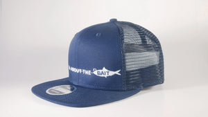 All About The Bait - Baitfish Design Original Fit Snapback Trucker Cap