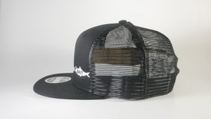 (2 Colors) BAIT FISH - New Era® Original Fit Snapback Trucker Cap (NE403) - 7 Snap Back (FREE DELIVERY)