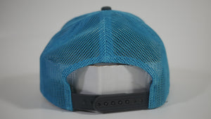 (3 Colors) Mullet - KC Caps KC8400 Adult Pro Style Trucker Cap with Neon Mesh - (FREE DELIVERY)