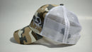 (3 Colors) BLUE CRAB - KC Caps KC7040 Fashion Camo Mesh Trucker Cap (FREE DELIVERY)