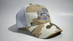 MULLET - KC Caps KC7040 Fashion Camo Mesh Trucker Cap (FREE DELIVERY)