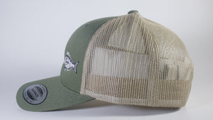 (3 Colors) PINFISH - Sport-Tek ® Yupoong ® Retro Trucker Cap (STC39) - 7 Snap Back (FREE DELIVERY)