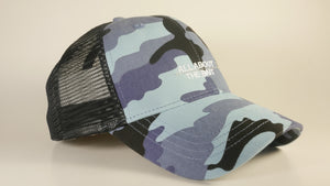 (3 Colors) PINFISH - KC Caps KC7040 Fashion Camo Mesh Trucker Cap (FREE DELIVERY)