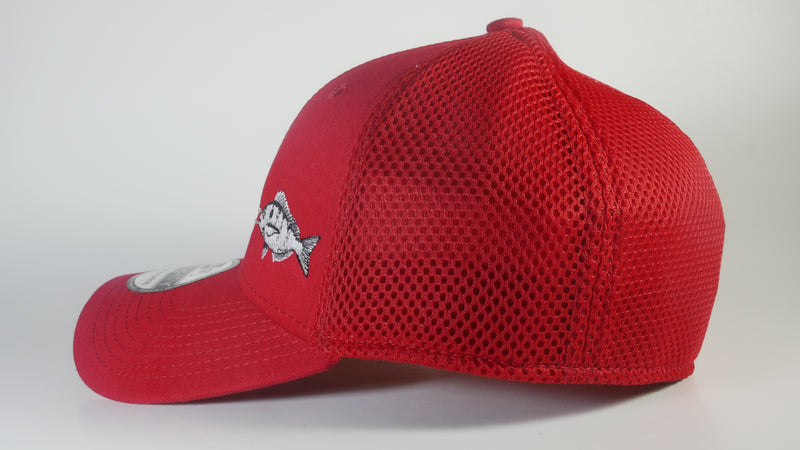 (4 Colors) PINFISH - MEDIUM/LARGE New Era® Stretch Mesh Cap (NE1020) - (FREE DELIVERY)