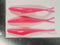 "4"" Fluke Soft Plastic - PINK - 20 or 40 pack - FREE SHIPPING"