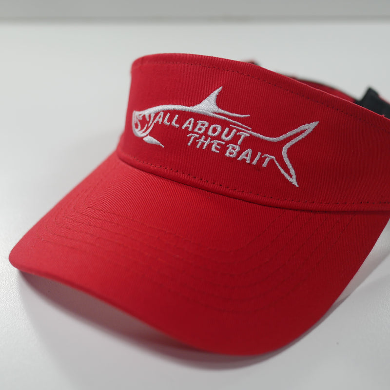 RED Fishing Visor - FREE SHIPPING