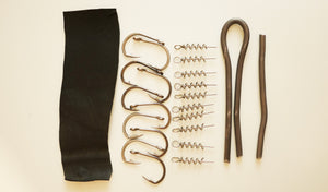"9"" Paddletail Rigging Kit 3,5, or 10 pack.  FREE SHIPPING"