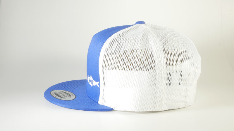 (4 Colors) BAIT FISH - Sport-Tek ® Yupoong ® 5-Panel Classic Trucker Mesh Back Cap (STC38) - 7 Snap Back (FREE DELIVERY)