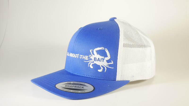 (5 Colors) BLUE CRAB - Sport-Tek ® Yupoong ® Retro Trucker Cap (STC39) - 7 Snap Back (FREE DELIVERY)
