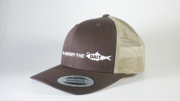 (5 Colors) BAIT FISH - Sport-Tek ® Yupoong ® Retro Trucker Cap (STC39) - 7 Snap Back (FREE DELIVERY)