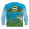 SNOOK PADDLETAIL - COOLMAX - 100% Micro Fiber Polyester Performance Long Sleeve Shirt (FREE SHIPPING)
