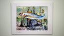 Ray Rolston Canvas Print - Mangrove Snook 2 - FREE SHIPPING
