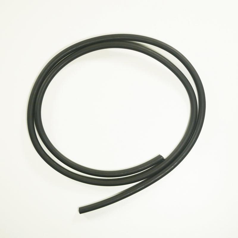 "BLACK - 1/4"" Colored Tubing - DIY Baby Cuda Tubes/Sunglass Straps"