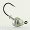 AATB Custom FISH HEAD Jigheads - 1 oz - 4/0 Mustad 2X Heavy Duty Hook - 5, 10, or 25 pack.  FREE SHIPPING
