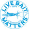 "Live Bait Matters - Squid 5"" Round Sticker"
