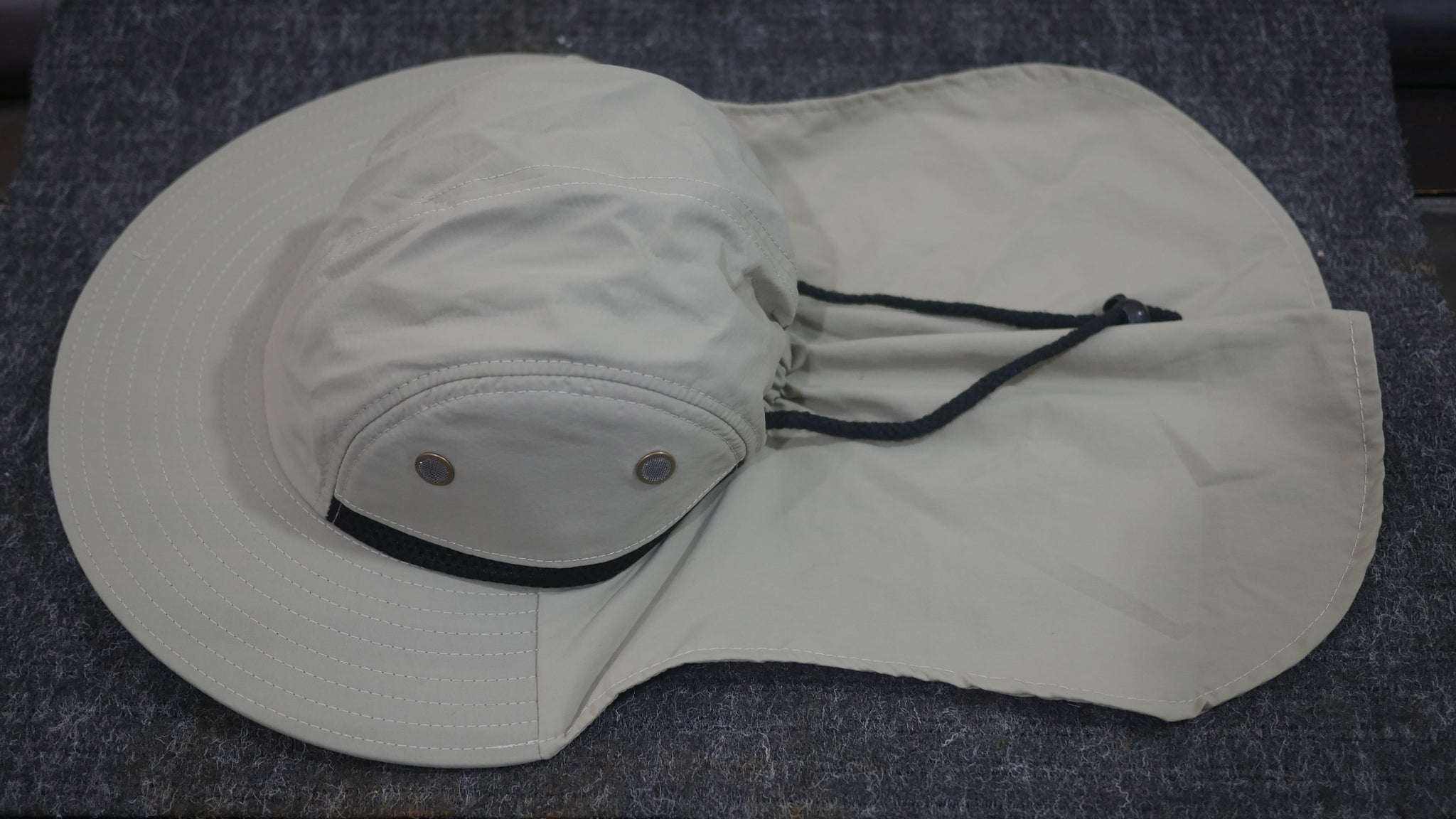 53f2f2419 Fishing Boonie Hat With Neck Flap - Desert Tan - One Size Fits Most - Free  Shipping