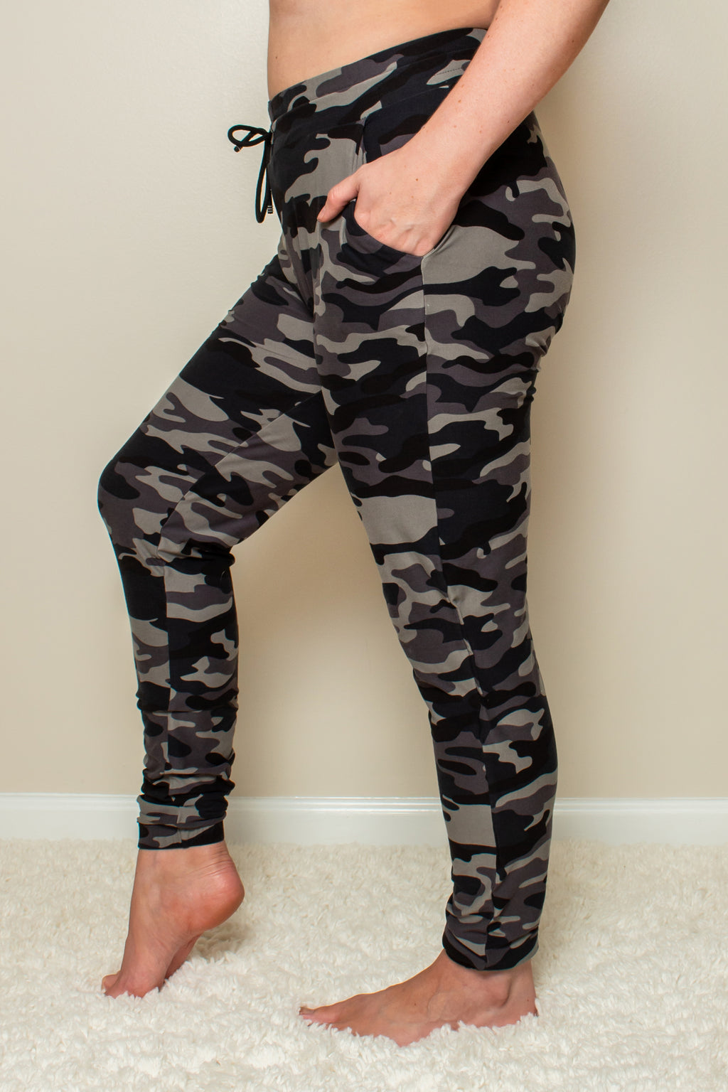 Ready For It Camo Joggers (Green)