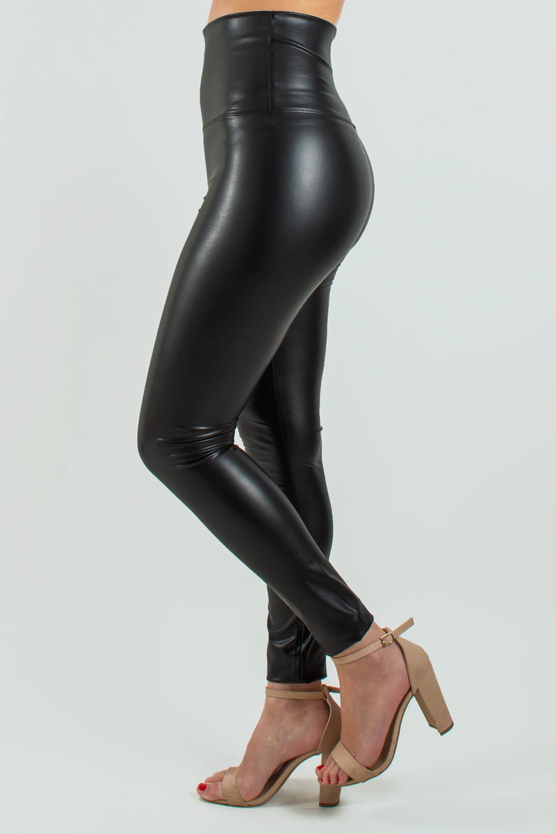 Womens leggings, Womens leather leggings, Womens black leather leggings, Womens black leggings