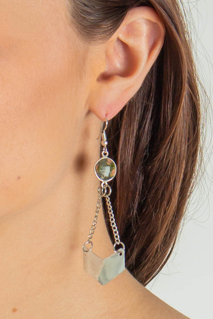 Waverly Drop Earrings (Silver)