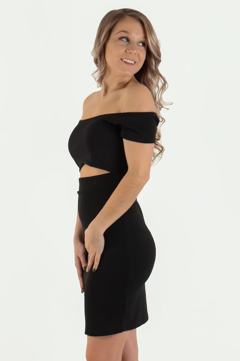 Black off the shoulder dress, Sexy off the shoulder dress, Boutique Dress, Boutique Bodycon, Boutique Bodycon Dress