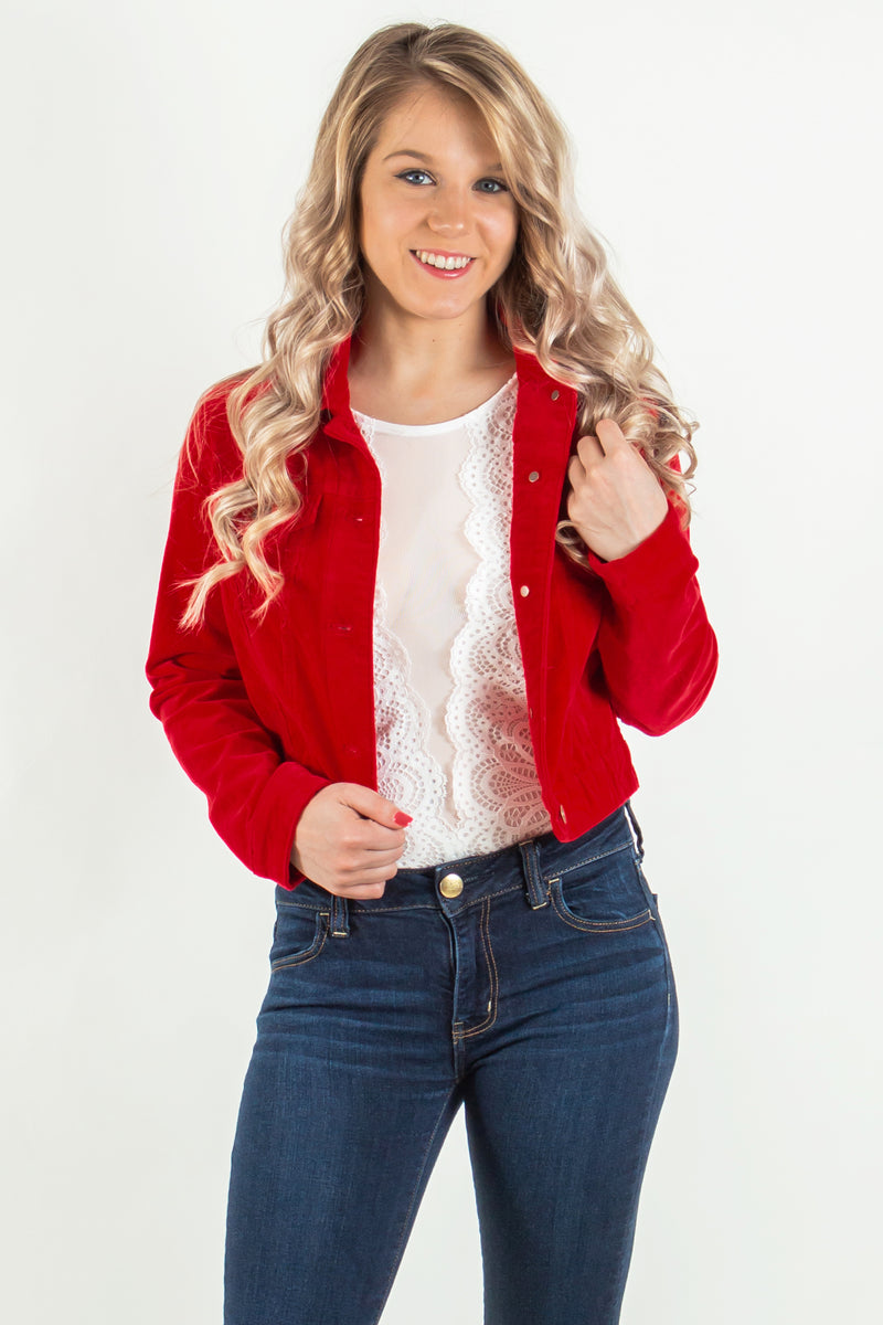 womens corduroy jacket, cropped jacket