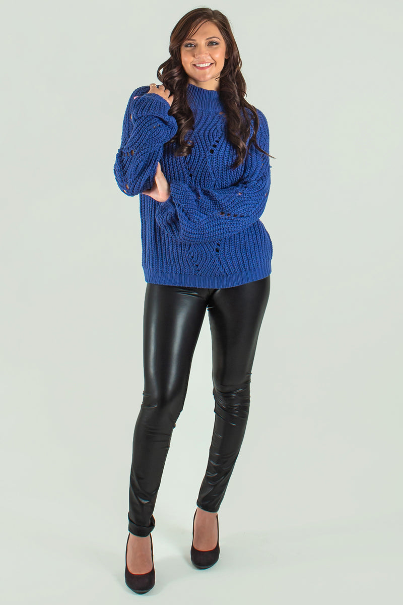 Sweater, womens sweater, blue sweater