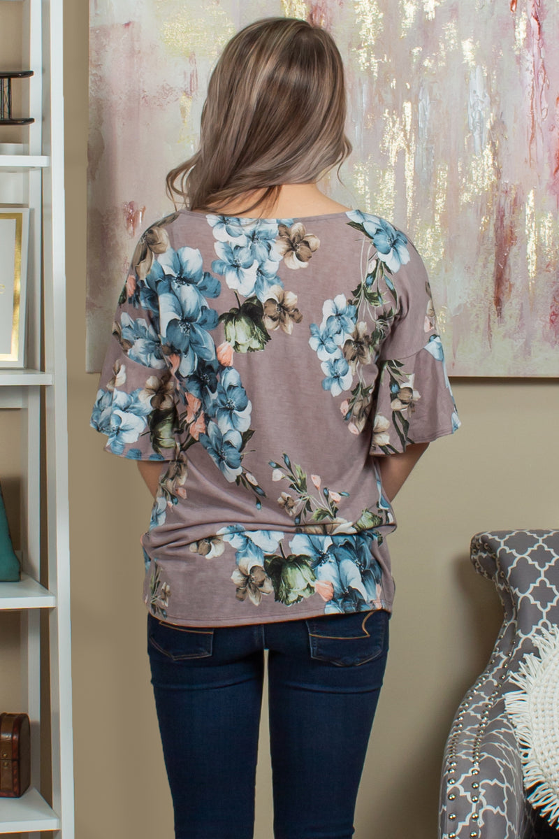 Womens floral blouses, Business casual tops