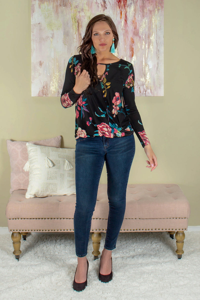 Perfect top, Trendy floral top