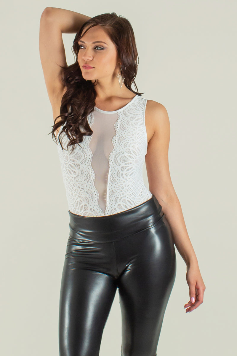trendy mesh bodysuit, womens lace bodysuit