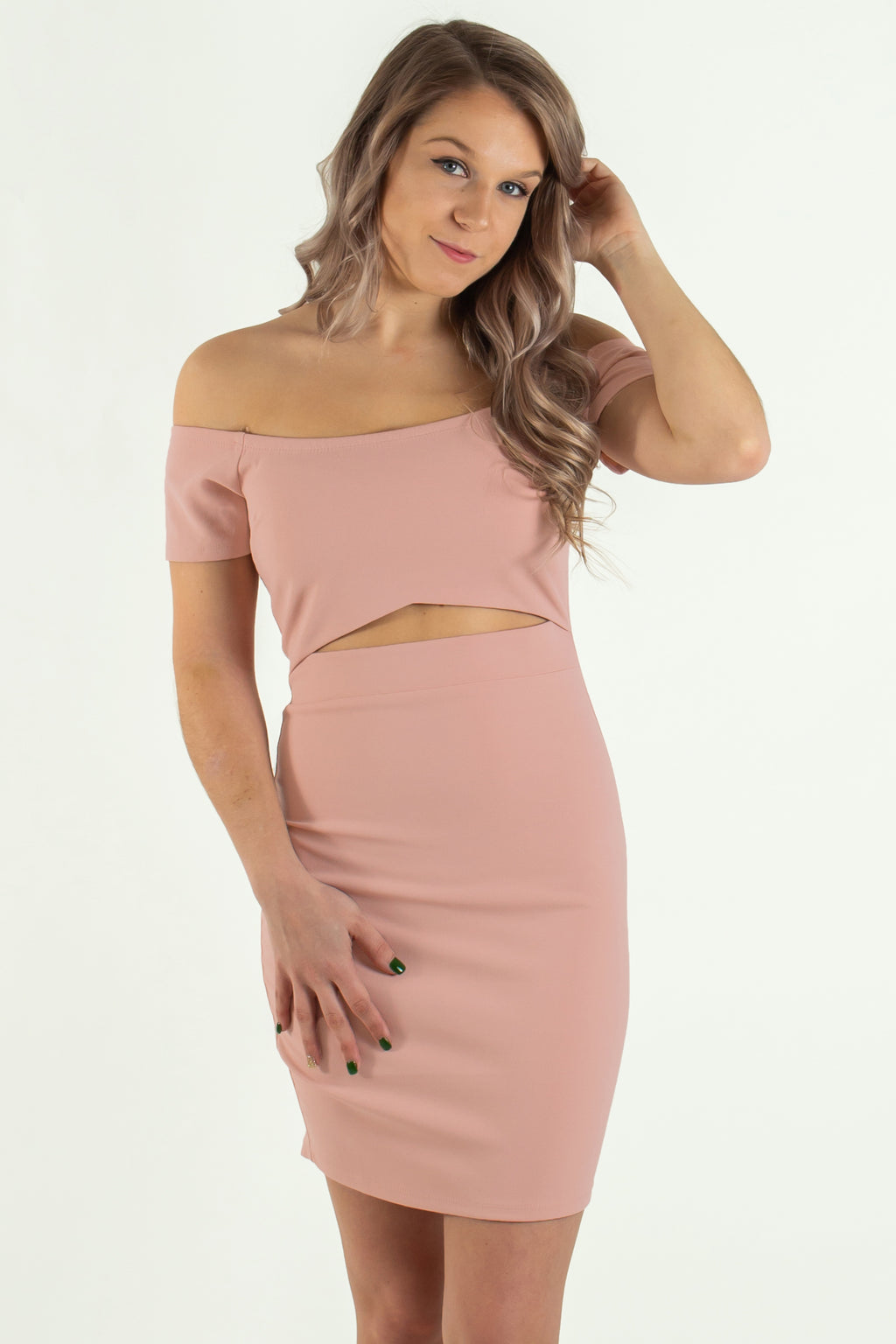 Sexy bodycon, Off the shoulder bodycon, Pink off the shoulder bodycon, Pink dress