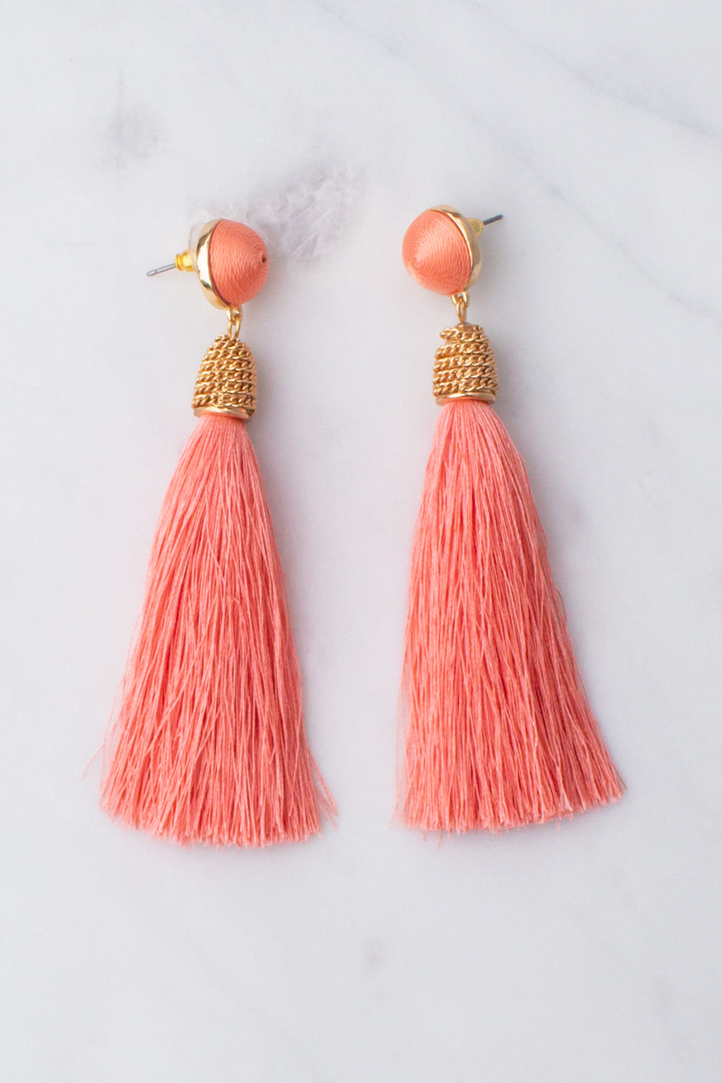 pink tassel earrings, cute pink earrings, trendy pink earrings, cute tassel earrings, trendy tassel earrings