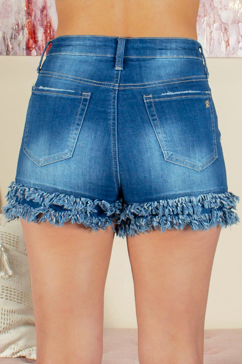 trendy denim shorts, cute denim shorts, cute frayed shorts, cute shorts, cute trendy shorts