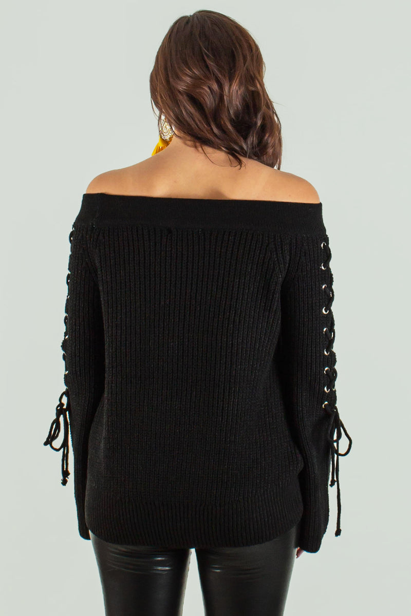 Womens Off the Shoulder Top, Sweater