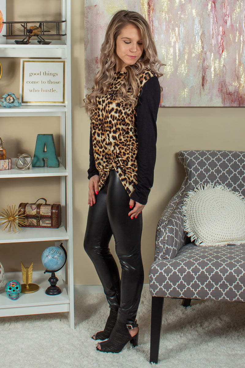 Boutique Animal Print Tops