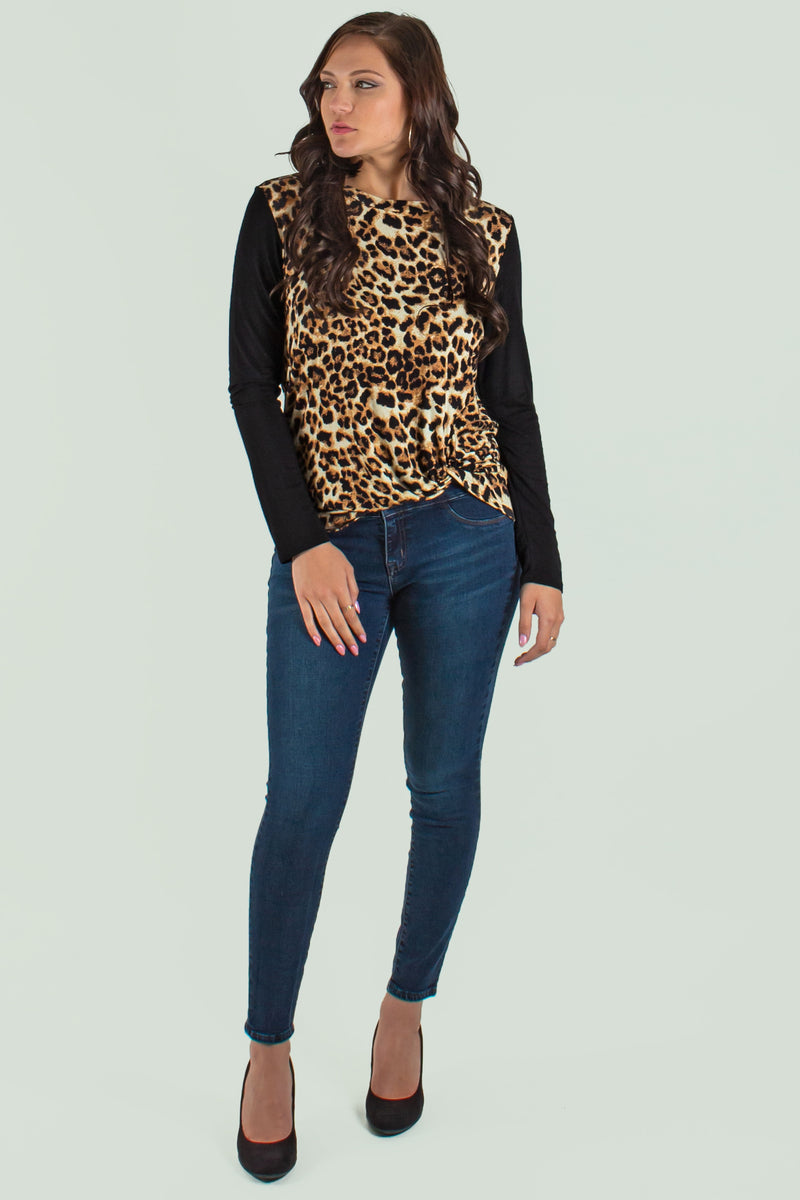 Cute Tops Cute, animal print top