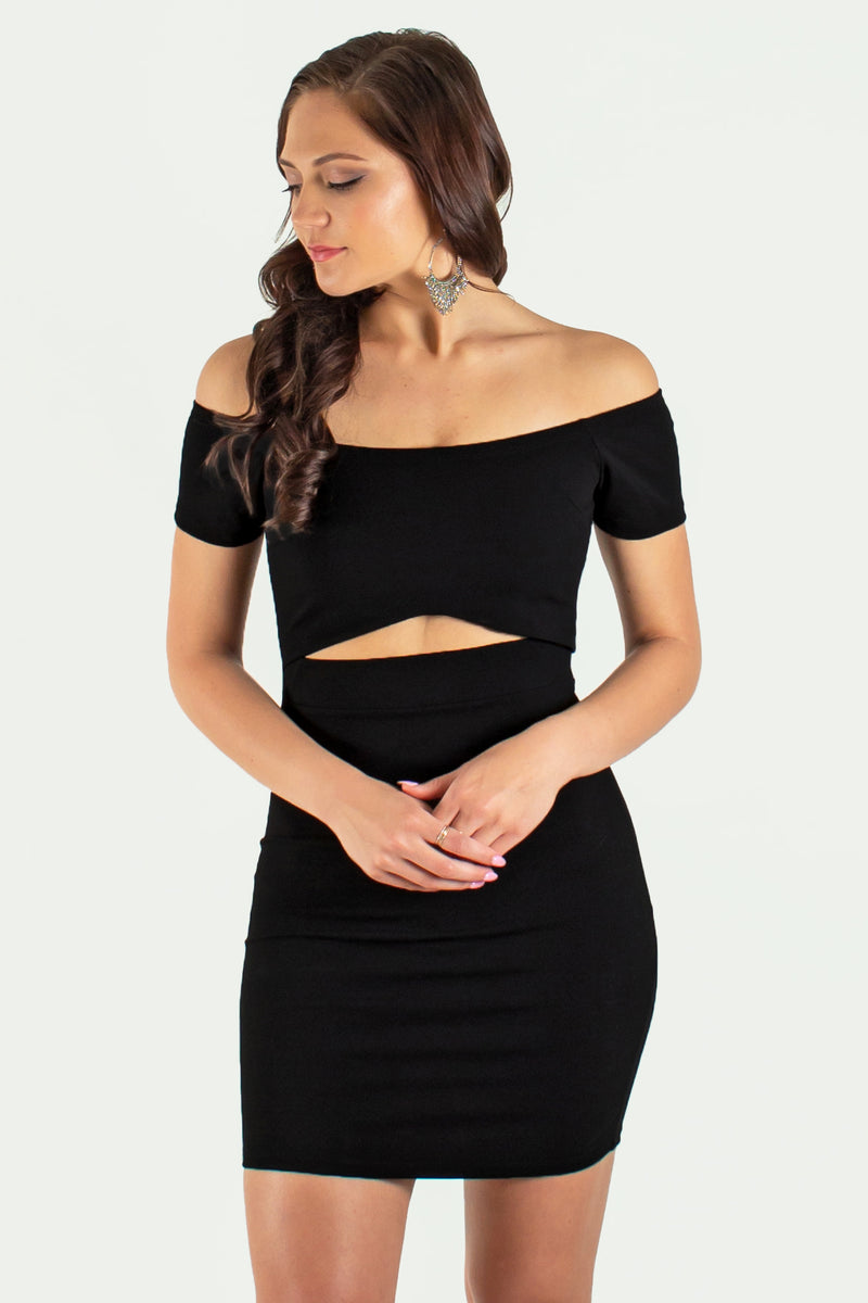 cute short dress, cute black dress, cute black bodycon, cute black bodycon dress, cute cutout dress