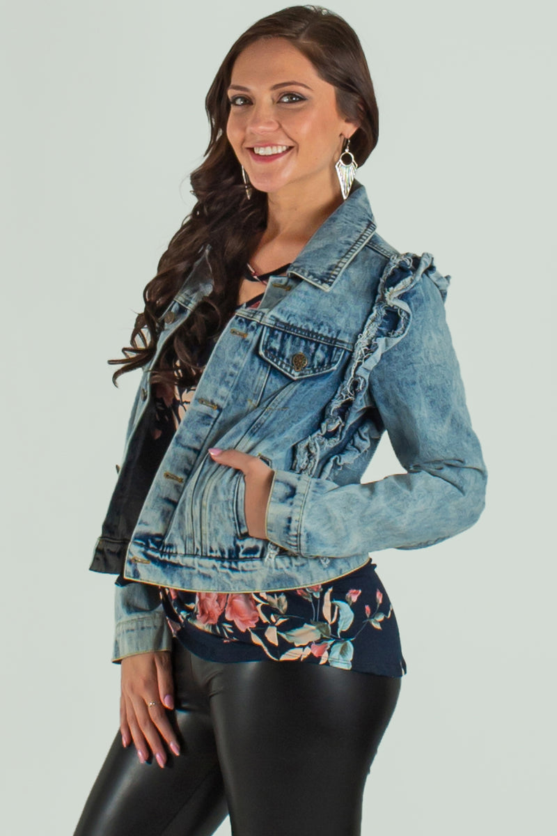 denim jacket, jean jacket