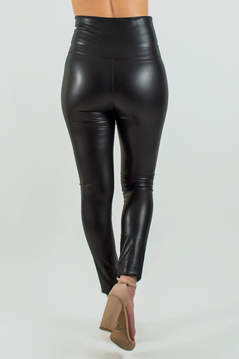 Trendy black leather leggings, Leather leggings, Leather leggings, Black leather leggings, Womens bottoms