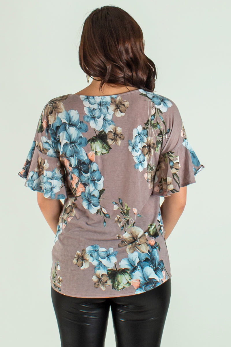 Womens blouses, Womens floral tops